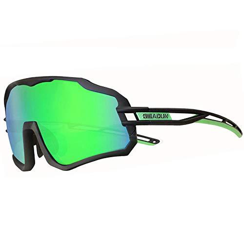 GIEADUN Gafas De Sol Polarizadas para Ciclismo con 3 Lentes Intercambiables UV400...