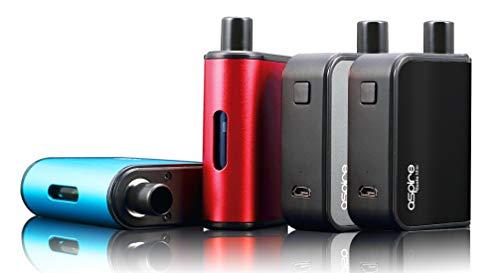 kein Nikotin Aspire Gusto Mini E-Zigarette powered by ELEMENT Ns20 Dampfgerät Komplettset mit Akku Farbe rot