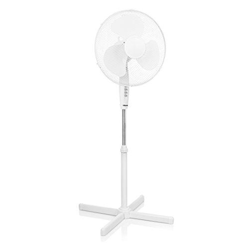 TRISTAR VE-5893 Ventilatore-40 cm-Altezza Regolabile, 45 W, Bianco, 105-125 cm