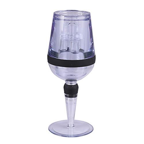 Aireador de vino tinto Mini filtro mágico Decantador vino esencial aireador rápido vino tolva filtro barra esencial equipo conjunto