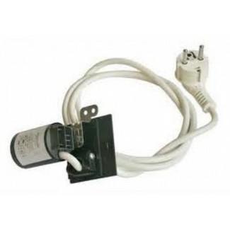 Cable de alimentación 3 x 1 anti parásito enchufe y filtro para ...