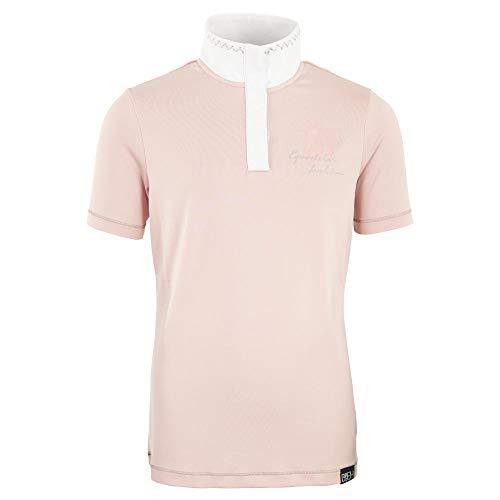 BR Shirt April Wedstrijd 4-Ever-Paarden, zilver roze