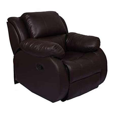 Wellnap Manual Rocking N Revolving Recliner Chair Brown Amazon In Home Kitchen