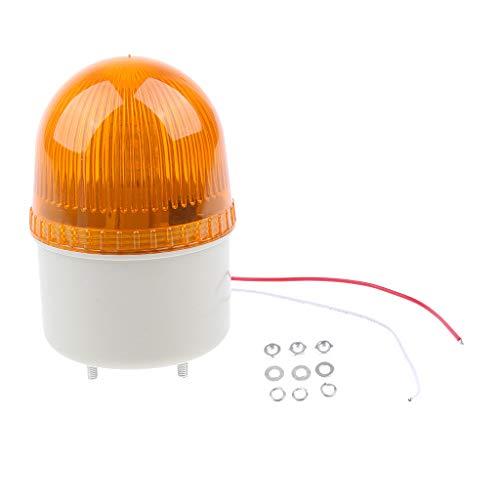 Lampe De Signalisation à Del Stroboscopique AC220V avec Alarme Sonore /