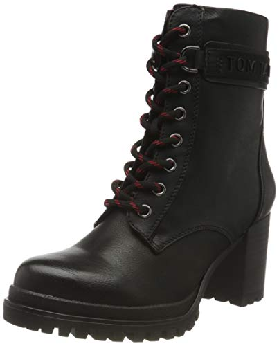 Tom Tailor Womens 9091804 Ankle Boot Classic Boot, Black, 4.5 UK