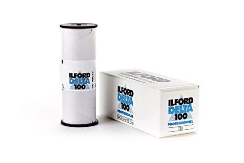 Ilford Delta 100 professional - Película analógica, blanco y negro, 120 mm