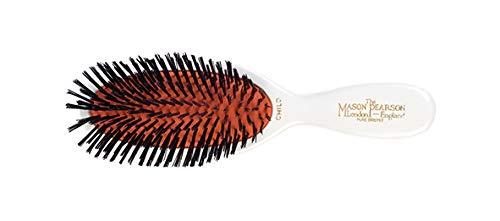 Mason Pearson - Brosse cheveux - Enfant - Poils de sanglier - Blanc