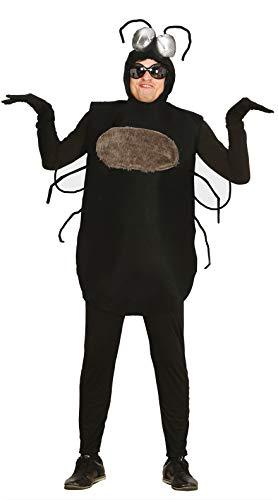 Guirca 80668 Déguisement de mouche pour adulte Noir Taille unique