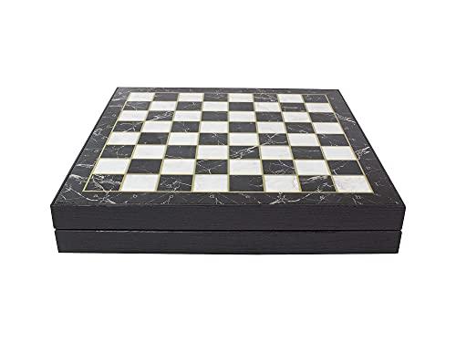 Antochia Crafts Jeu déchecs 35,6 cm – Échiquier en bois plaq