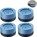 Anti Vibration Pads For Washing Machine.4 Almohadillas Para Los Pies De La Lavadora, Reducen El Ruido De La Lavadora O La Secadora. Adecuado Para Muebles Grandes, FrigoríFicos Y Lavadoras.