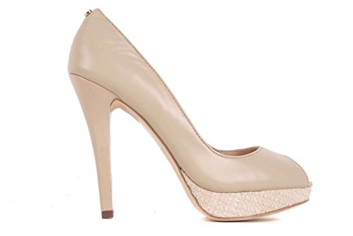 Versace Damen Pumps Highheels Stilettos Beige BS28(EUR 39)