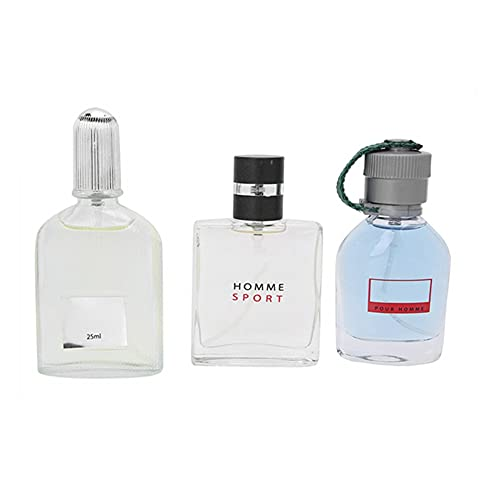 Perfume para hombre 4 * 25 ml, Eau de Parfum Men 4 fragancias diferentes, Perfecto para caballero, Parfume Temptations