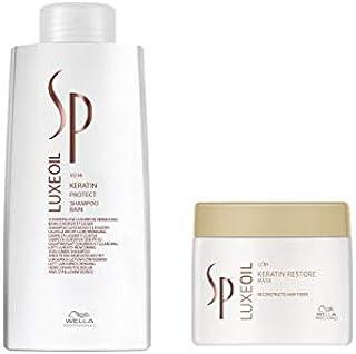 Kit Shampoo e Máscara Wella SP Luxe Oil