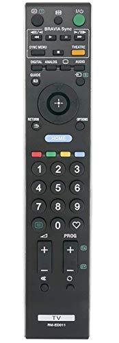 Ricambio RM-ED011telecomando per Sony Bravia TV KDL-26E4050 KDL-32W4220 KDL-37V4710 KDL-40E4000 KDL-46W4730