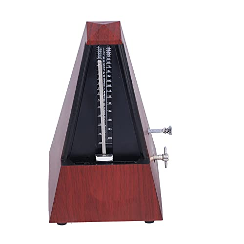 Metrónomo, Imanes De Cerámica 40‑208BPM Metrónomo Mecánico Sonido Granulado Para Guitarra