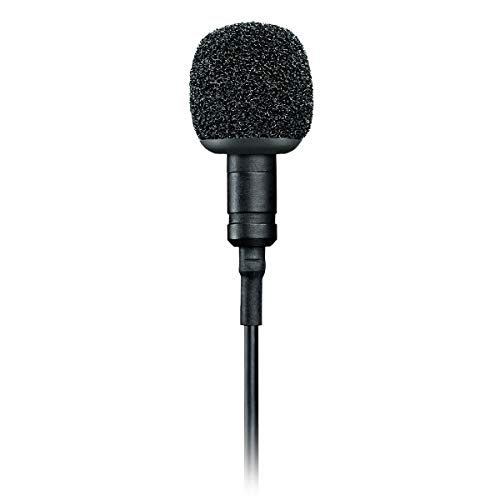 Shure MVL Lavalier Microphone (Black)