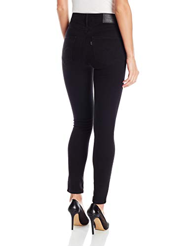 Levi's Women's 721 High Rise Skinny Jeans,  Soft Black,  28 (US 6) R