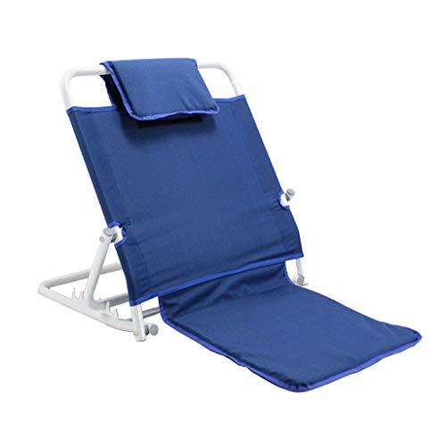 LZQBD Family Care/Bett Rückenlehne Einstellbare Winkel Mobilität Disability Support Hilfe |Verstellbares Bett Rückenlehne mit Kissen |Boden Stuhl mit Rückenstütze Camping |Bettruhe Unterstützung