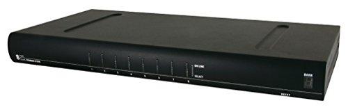 Value 14993222 KVM-Umschalter 1 User 8 PCs (PS/2+USB), 48,26 cm (19 Zoll) schwarz