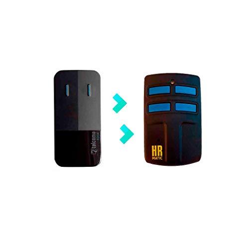 Mando de Garaje Universal HR MULTI 2 compatible con TELCOMA EDGE