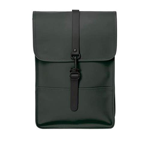 RAINS Backpack Mini Zaino, Donna, Verde, Taglia Unica