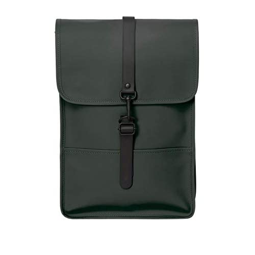 RAINS Backpack Mini Zaino, Donna, Verde, Taglia Unica