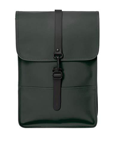 RAINS Backpack - Mini zaino, donna, verde, taglia unica