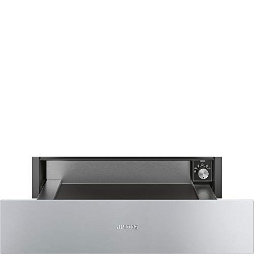 Smeg CPRU315X Classic Aesthetic Warming Drawer with 0.75 Cu.Ft. Capacity, 24-Inches