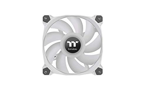 Thermaltake Pure Duo 14 ARGB Sync Radiator Fan 2 Pack White Fan, CL-F098-PL14SW-A