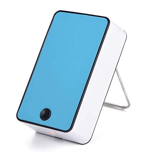 Mini-USB-ventilator voor draagbare airconditioners, mini-ontwerp voor watergekoelde koeler, geluidsarme luchtkoeler voor thuisgebruik, geluidsarme USB-ventilator (blauw)