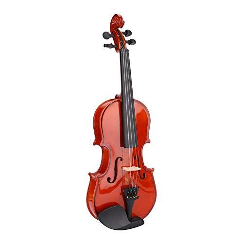 Huairdum Violin 44204 Violín, violín para niños 1/8, Kit de violín para niños 1/8, con Caja de Regalo de música Profesional para Aprendizaje de Rendimiento practicando educación Mu