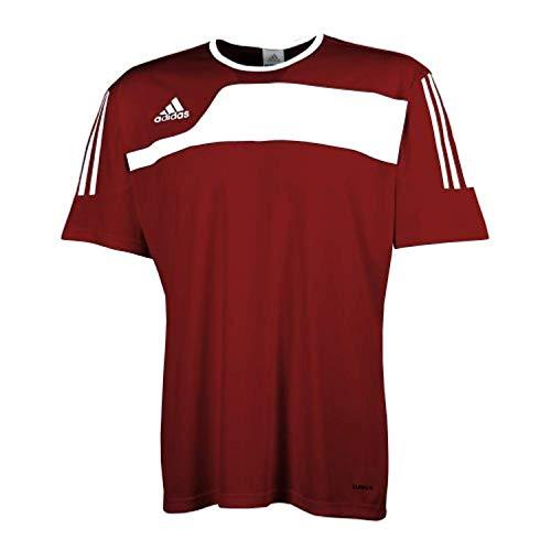 adidas Hombre Autheno Camiseta Roja, XS