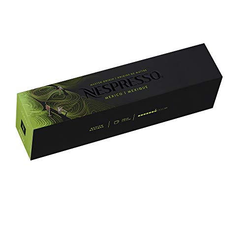 Nespresso VertuoLine Mexico Coffee (7.7 ounce), 20 Count [ Import from EU and UK ]