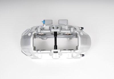 GM Original Equipment Silver Front Passenger Side Disc Brake Caliper Assembly - ACDelco 172-2488