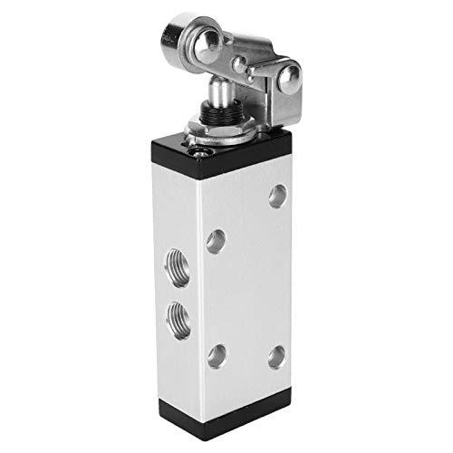 Válvula de conmutación Válvula manual mecánica Adoptabilidad práctica Industrial para equipos neumáticos con diámetro de tubería G1 / 4 pulgadas