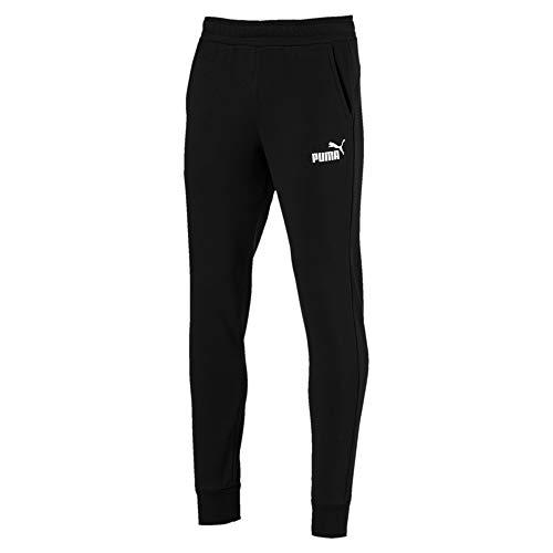 Puma - Tela de algodón negro con impresión blanca Negro Size: L