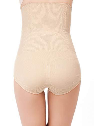 Leapair Mutandine di Controllo a Vita Alta delle Mutandine di Controllo di Shapewear di Controllo delle Donne
