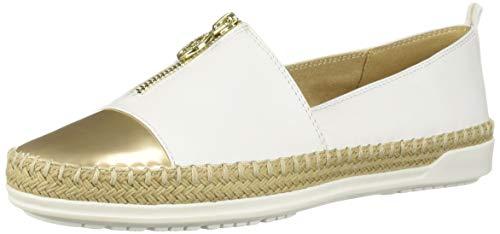 Price comparison product image Anne Klein Women's Zetta Slip ON Sneaker,  White,  8.5 M US