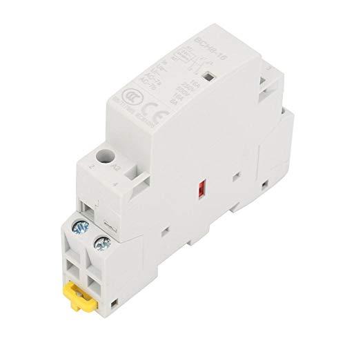 Contactor de AC de 2P 16A 24V, contactor de AC de hogar...