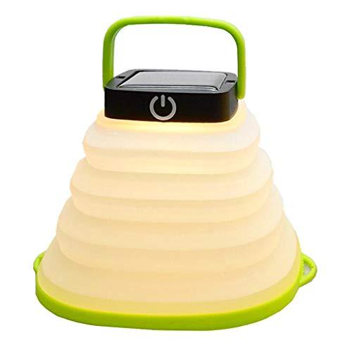 MM456 Solar Camping Licht, Zeltlicht led Inspektionslicht Licht fischen Außenbeleuchtung Mini Beleuchtung Teleskoplampe 500mAh für Outdoor Camping Beleuchtung Angeln
