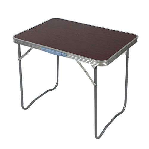 Tafel 70 x 50 x 65 cm, multifunctionele huishoud-aluminium klaptafel, beweegbare tuin, patio, barbecue, party, bureau