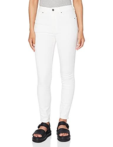 G-STAR RAW Kafey Ultra High Skinny Wmn Jeans, Blanco (White), 27W / 30L para Mujer