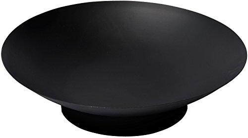 """dobar Feuerschale \""""Stockholm\"""", Feuerstelle aus Stahlblech, Durchmesser 60 x 17 cm, schwarz"""