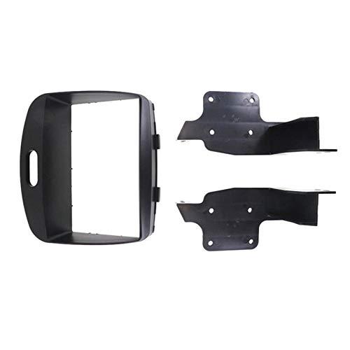 JIAYIN Toto Department Store Unidad de Cabezal de Coches 2-DIN Fascia Radio Facia Estéreo Instalación Dash Kit Fit para Hyundai i10 2008-2013 (Color Name : Black)