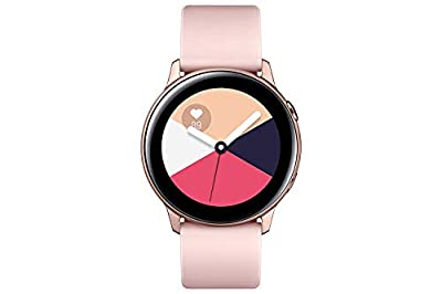Samsung Galaxy Watch Active (40mm), Rose Gold - US Version with Warranty (Renewed) by Samsung