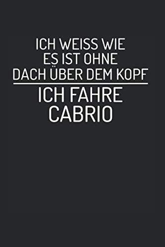 Ohne Dach Über Dem Kopf Cabrio: Notebook Notizbuch Register Karo Kariert Journal Din A5 150 Seiten Schulheft I Skizzenbuch I Tagebuch I Ideenbuch I Bwl Student Reich Parodie