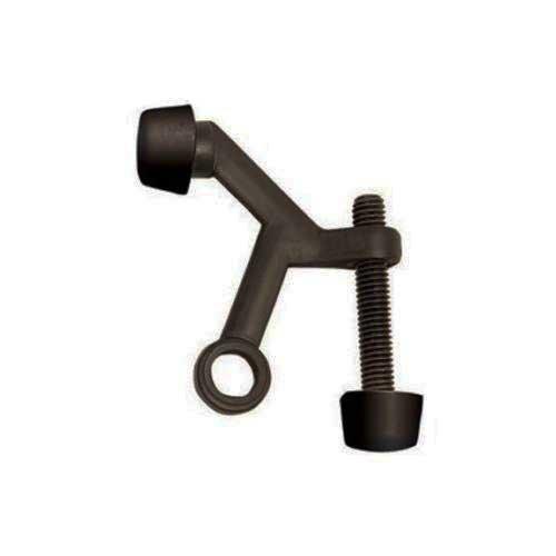 Hinge Pin Door Stop - Oil Rubbed Bronze, 10 Pack