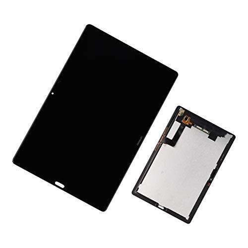 Duotipa Pantalla compatible con Huawei MediaPad M5 10.8 CMR-AL09 CMR-W09, pantalla LCD, digitalizador, repuesto de pantalla + herramientas (negro)