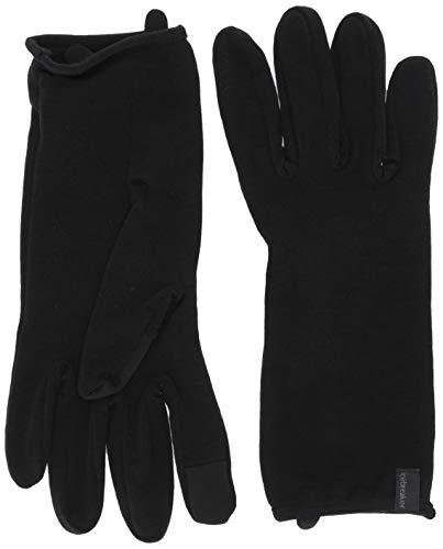 Icebreaker Merino Adult 260 Tech Glove Liner / Black S