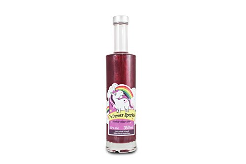 Princess Sparkle Himbeer-Glitzerlikör  350ml